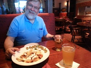 My dad at American Tap House