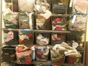 Big ol' wall of craft supplies!