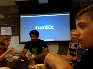 Eating Dinner @ Tumblr