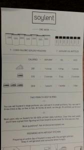 Instructions for Soylent